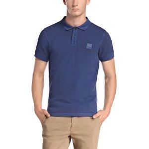Boss Orange Polo Shirts Pascha in Dark Blue