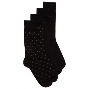 Boss Black Socks Twopack RS in Black