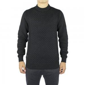 Luke Roper Knitwear Angler in Black