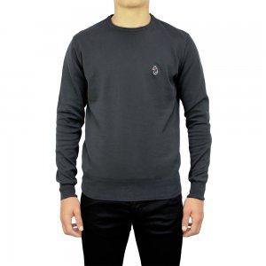 Luke Roper Knitwear Gerard in Charcoal