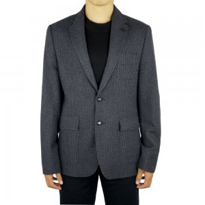 Luke Roper Blazer Squire in Black