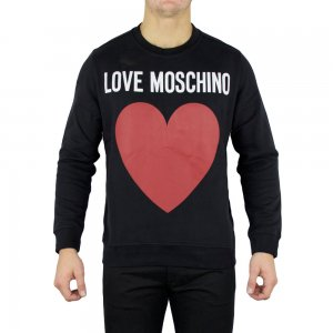 Moschino Sweatshirt Love Sweatshirt in Black