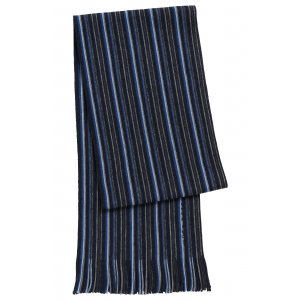 Boss Black Scarves Fadon in Dark Blue