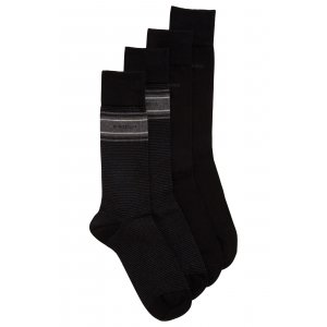 Boss Black Socks Two Pack in Black