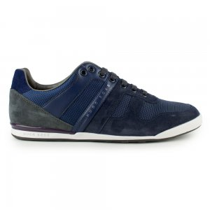 Boss Green Trainers Akeen Clean in Dark Blue