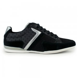 Boss Green Trainers Spacit Graphic in Black