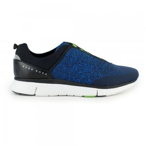 Boss Green Trainers Gym Knit in Dark Blue