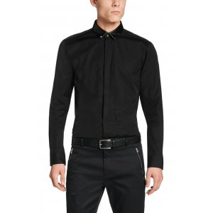 Hugo Shirt Slim-Fit Elliot Shirt in Black
