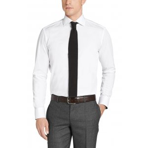 Boss Black Formal Shirts Gregory in White