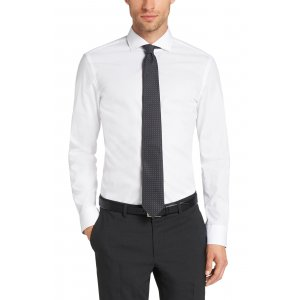 Boss Black Formal Shirts Jery in White