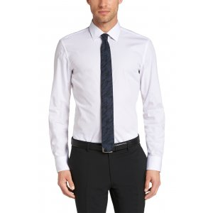 Boss Black Formal Shirts Jamis in White