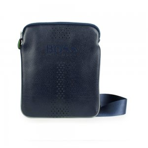 Boss Green Bags Mixton in Navy