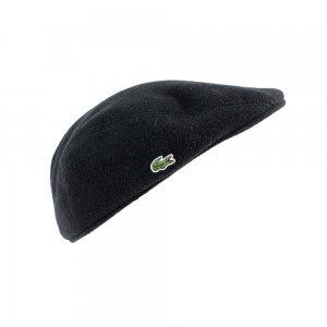 Lacoste Hats Flat Cap in Black