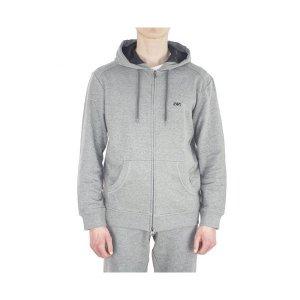 Armani Jeans Sweatshirt Logo Hooded in Grey