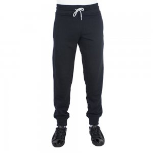 Armani Jeans Track Bottoms Knitted Pants in Black