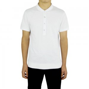 Versus Versace Polo Piguet in White