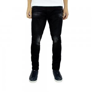 True Religion Jeans Mick No Flap in Black