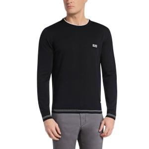Boss Green Knitwear Rime_PS16 in Black