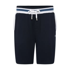 Boss Black Loungewear Short Pant in Dark Blue