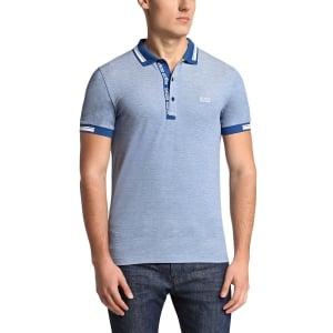 Boss Green Polo Shirts Paule 4 in Blue