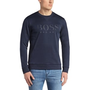Boss Green Sweatshirts Salbo in Navy