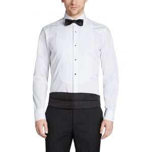 Boss Black Formal Shirts Gustavo in White