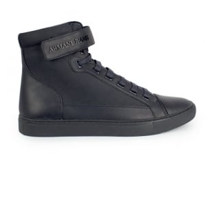 Armani Jeans Footwear High Top in Navy
