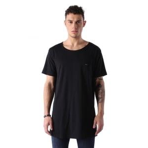 Diesel T-shirt T Longer in Black