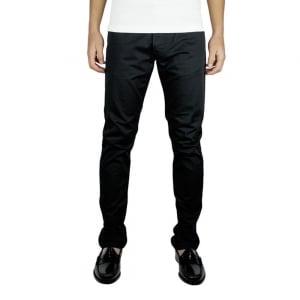 Armani Jeans J06 Slim Regular Leg Jeans in Black