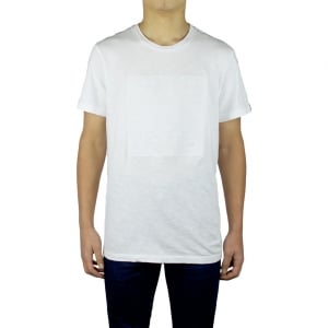 True Religion Debossed Graphic T-Shirt in White
