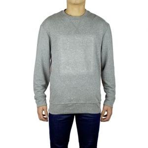 True Religion Double Knit Sweatshirt in Grey