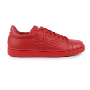 EA7 Eagle Logo Trainers in Red