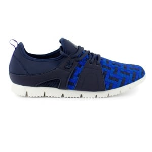 Luke Roper Napa Trainers in Navy