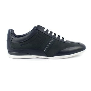 Boss Green Space Select Trainers in Dark Blue
