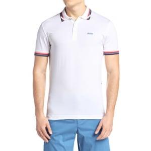 Boss Green Paule 7 Polo Shirt in White
