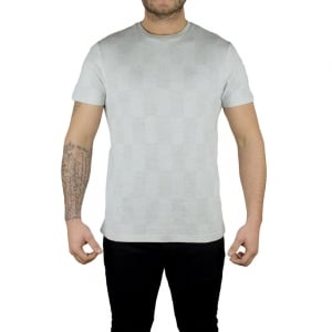 Lyle & Scott Vintage Stitch Block T-Shirt in Grey