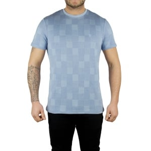Lyle & Scott Vintage Stitch Block T-Shirt in Blue