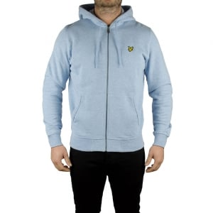 Lyle & Scott Vintage Zip Through Sweatshirt in Blue