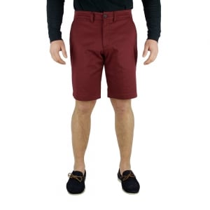 Lyle & Scott Vintage Chino Shorts in Deep Red