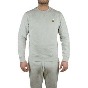Lyle & Scott Vintage Crew Logo Sweatshirt in Grey
