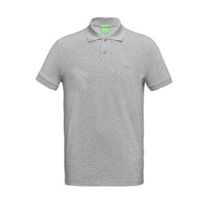 Boss Green Polo Shirts C-Firenze In Grey