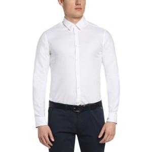 Hugo Boss Green Shirts Regular C-Buster In White