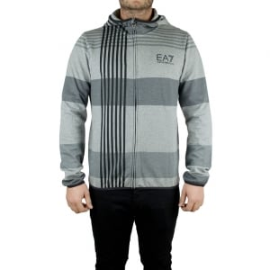 EA7 7 Lines Sweatshirt in Grey