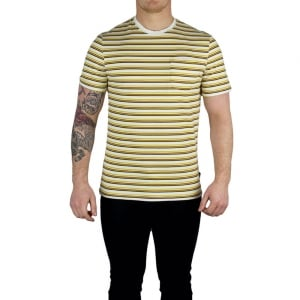 Barbour Kingston T-Shirts in Cream