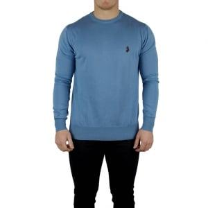 Luke Roper Gerard Knitwear in Blue