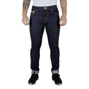 Love Moschino Love Square Jeans in Dark Wash