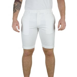 Lacoste 38-40 Bermuda Shorts in White