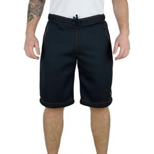 Ea7 Knit Shorts in Dark Blue