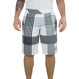EA7 7 Lines Shorts in White