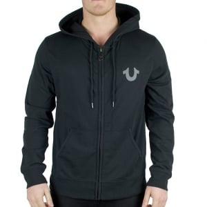 True Religion Crafted With Pride Hoodie in Black